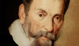 Claudio Monteverdi (15 May 1567-29 November 1643): 'I found as subject for my music the two contrary passions of battle and prayer on the point of death.'
