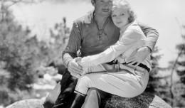 Randolph Scott and Verna Hillie