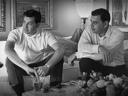 The Sherman brothers, Richard M. (left) and Robert B. (right). 'Annette used to say all the time that she couldn't sing,' Richard says, 'and I used to tell her she'd better, because you can't dance on a record.'