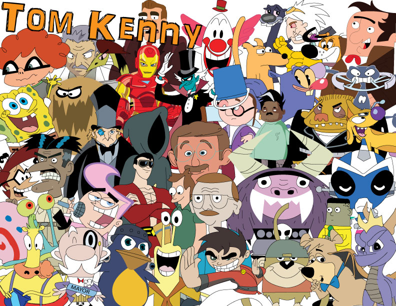 The many voices of Tom Kenny: 'You think, 'I am making a living at this, and the only reason I have a house is all this dumb stuff I've done.''