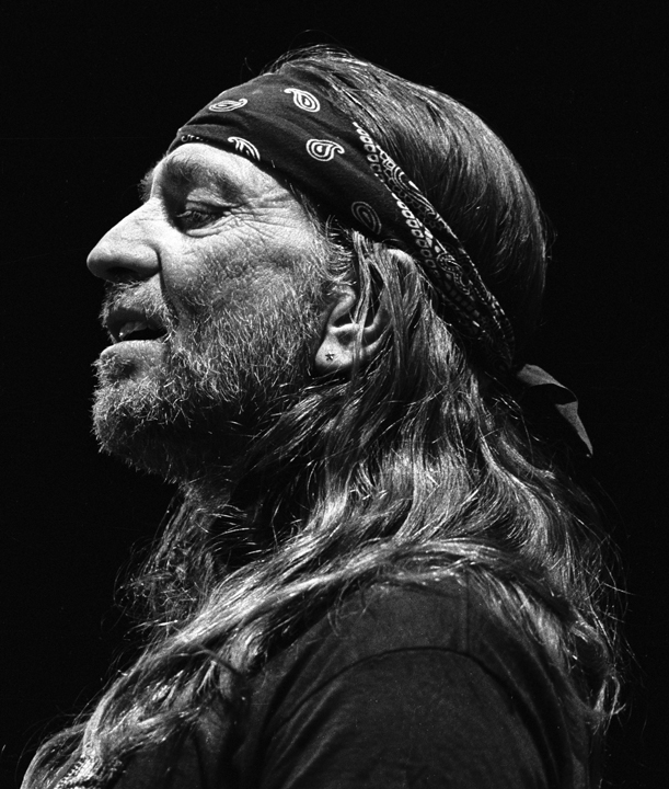 Willie Nelson: He decides to take a walk and get among us…