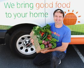 Chad Arnold, founder of Door to Door Organics (photo: Door to Door Organics)