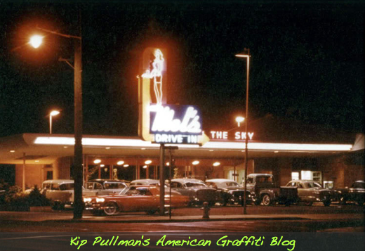 Mel's 909 South Main, Salinas, CA.  circa 1955