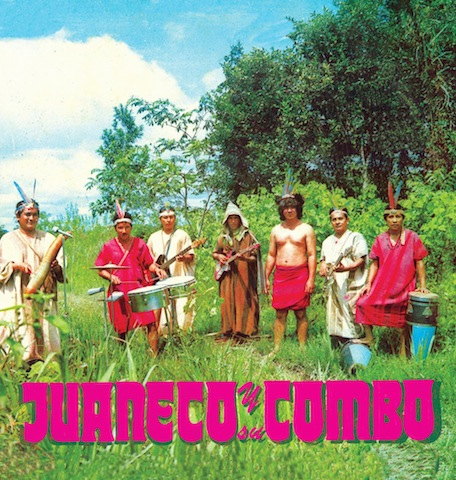 The early recordings of Peru's Juaneco y su Combo are featured on The Birth of Jungle Cumbia from The Vital Record