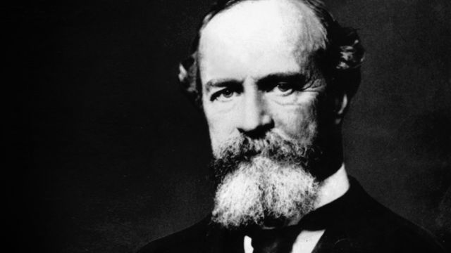 To his father William James (above) wrote: 'In that mysterious gulf of the past into which the present soon will fall and go back and back, yours is still for me the central figure.'