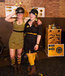 Beez Kneez Founders Kristy Allen and Erin Rupp. (Photo: Erin Rupp)