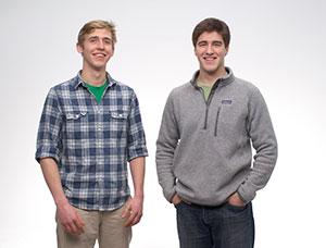 Grove Labs founders Gabe Blanchet and Jamie Byron. (Photo: Grove Labs)