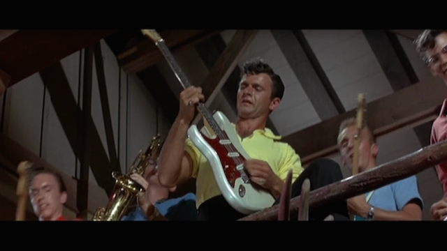 Dick Dale & Hit Del-Tones in Beach Party: The Tiger's loose! Pray for surf!