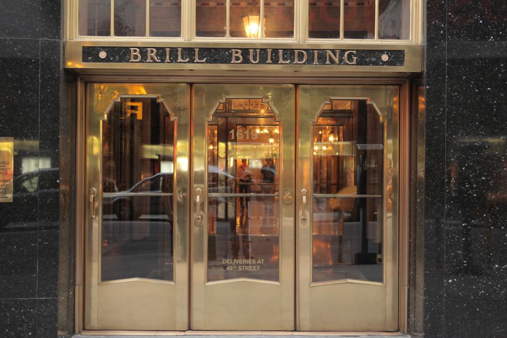 'No Brill Building, no  me.'