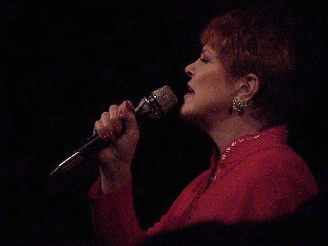 "Annie Ross: ""When they say nothing is forever, nothing is forever/I just smile, 'cause I know it's not true/music is forever/music is forever/you still live when we listen—sing to me, sing to me…"""