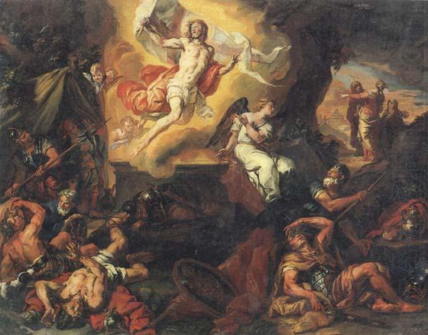 The Resurrection of Christ, Johann Carl Loth, 1632-1698