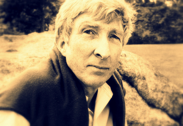 John Updike in Massachusetts, 1984. Photo: Dominique Nabokov