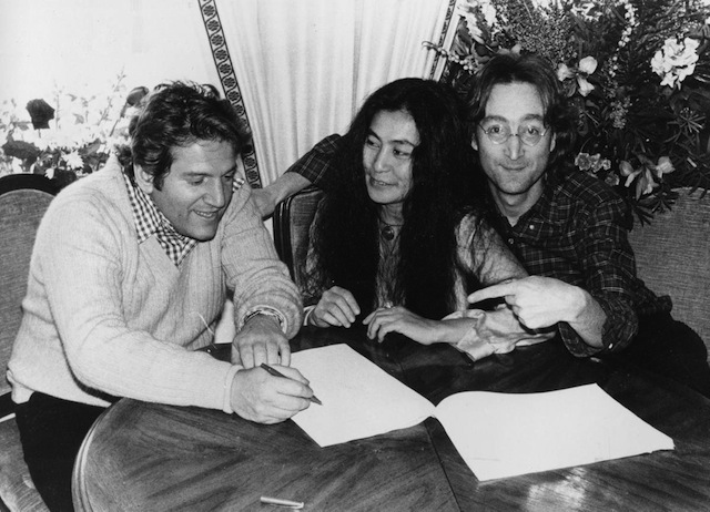 Allen Klein with Yoko Ono and John Lennon: for Lennon and Klein, respect and love outstripped conflict