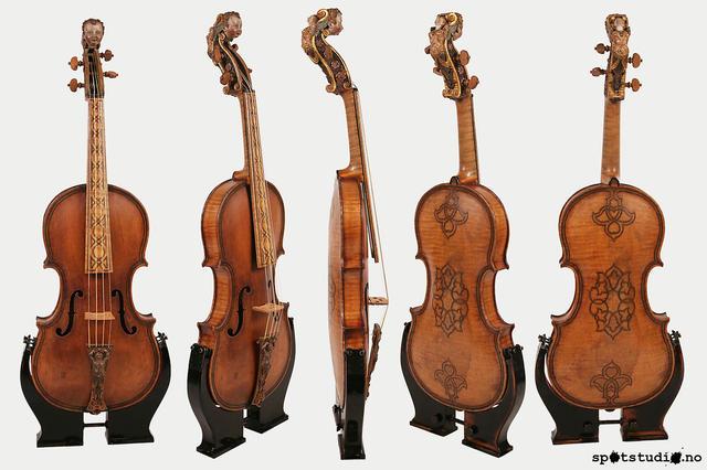 Ole Bull's violin. (Gasparo, Italy 1562)