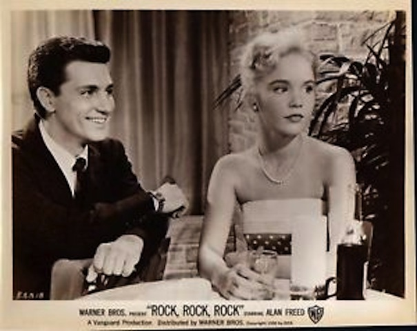 Teddy Randazzo and 13-year-old Tuesday Weld in Rock, Rock, Rock!