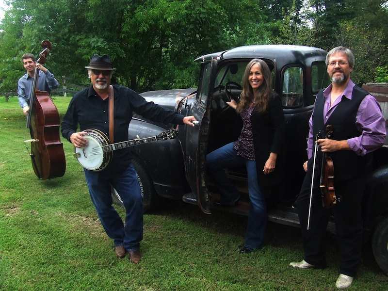 Delta Reign: (from left) Joshua Faul, Pat Murphy, Benita Murphy, George Mason. 'Where they're going with this is where bluegrass fans, even purists, should want to be taken.'