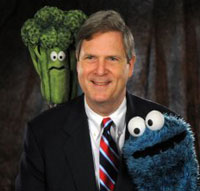 Tom Vilsack and friend