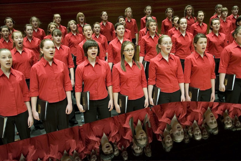 The National Girls Choir of Scotland (Photo: Drew Farrell)