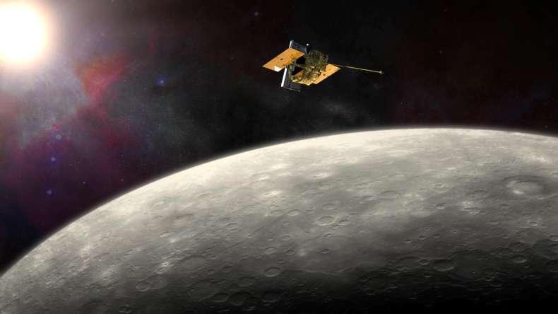 MESSENGER reaches Mercury